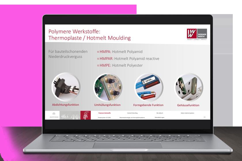Professionelle Produktpräsentaion für die Werner Wirth GmbH